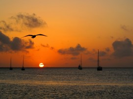 Sunset from Settlement Point