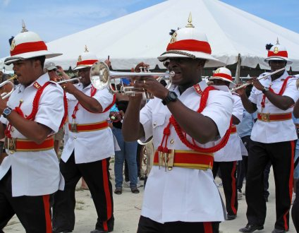 Royal Bahamian Police Force Marching Band - Island Roots Heritage Festival