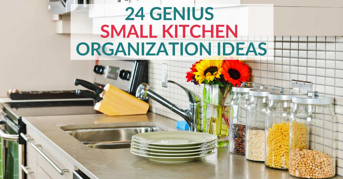 small space kitchen corian sinks 24 clever organization ideas you need to try looking for requires some creativity and forethought