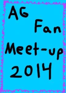 AG Fan Meet-up 2014 Button