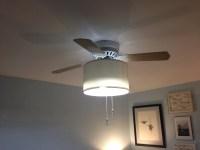 A Few Inexpensive UpdatesDrum light Ceiling Fan ...