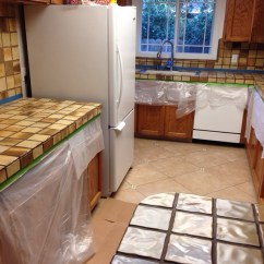 Tile For Kitchen Countertops Ninja System Pulse Part 3 Make Over Encore Tips And Helpful Hints 20140510 072901 Jpg