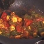 Indian food- kadhai-paneer