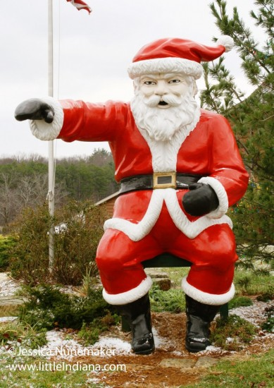 Santas Lodge in Santa Claus is an Experience  Little Indiana