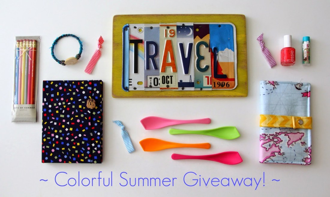 A Colorful Summer Giveaway! <br>&#8211; Now Closed