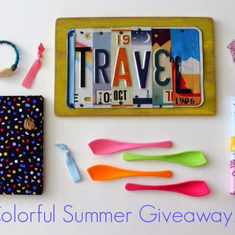 A Colorful Summer Giveaway! <br>– Now Closed