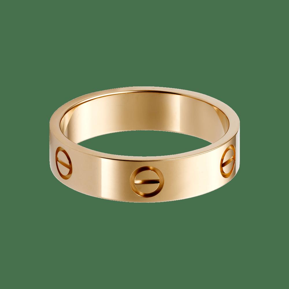 Rose Gold Rings: Rose Gold Rings Cartier