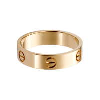 Rose Gold Rings: Rose Gold Rings Cartier