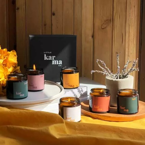 Selection Set | build your own personalised gift set of scented candles. Beautifully presented in luxury eco friendly packaging