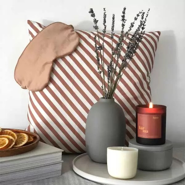 luna | calming lavender + patchouli midi refillable candle [150g]