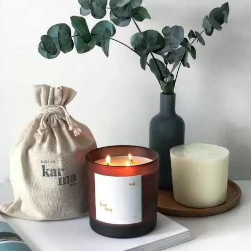 SOL energising mega refillable candle and mega candle refill. Refill our candles in 3 easy steps