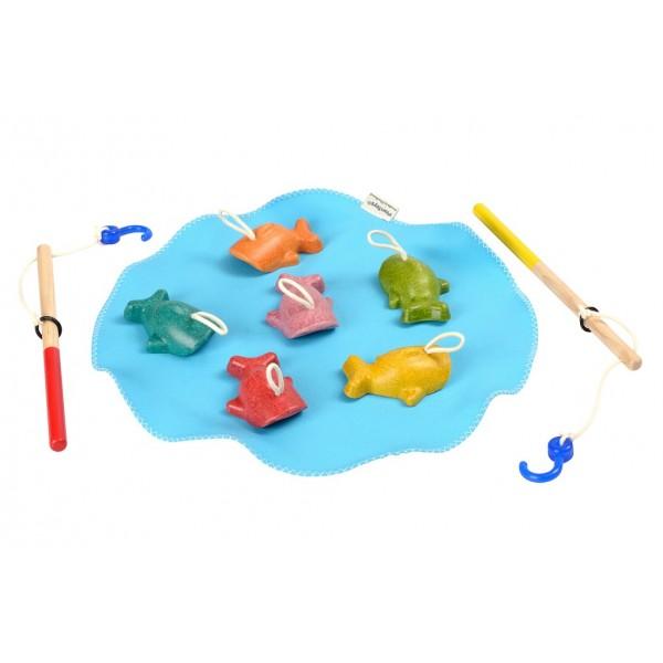 na stolečku rybolov
