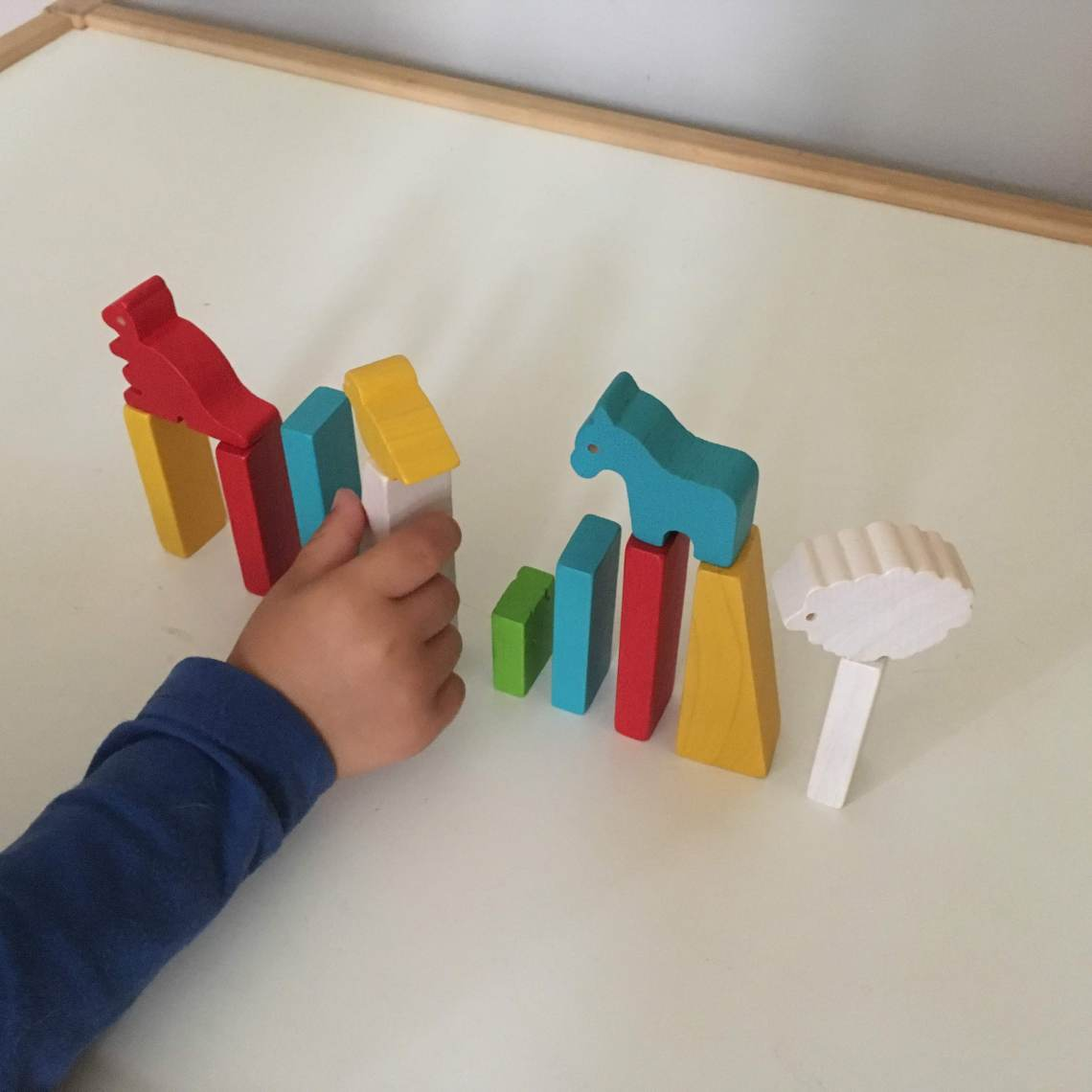plan toys postav zoo balancni hracka fyzika