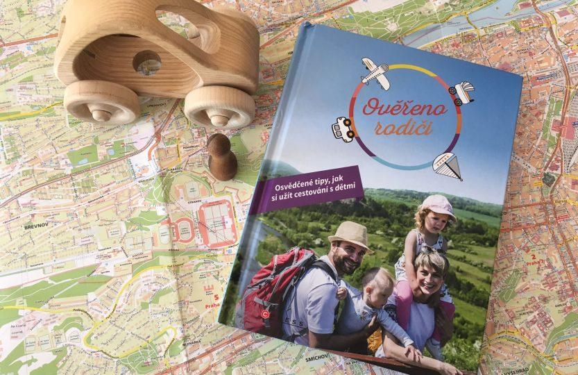 kniha ověřeno rodiči, jak cestovat s dětmi