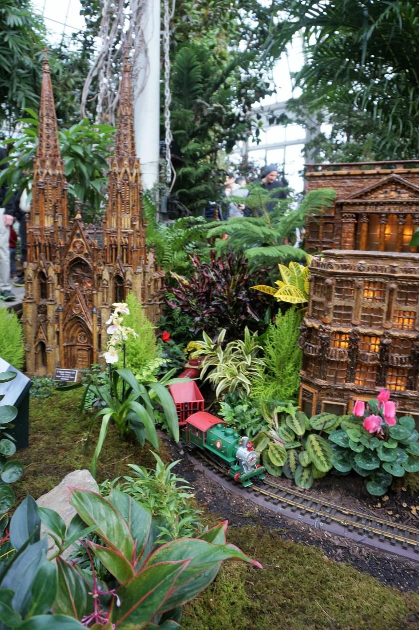 New York Botanical Garden Train Show Scene