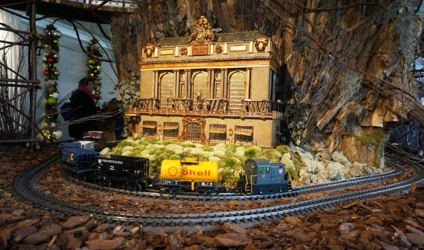 New York Botanical Garden Train Show Grand Cental Station