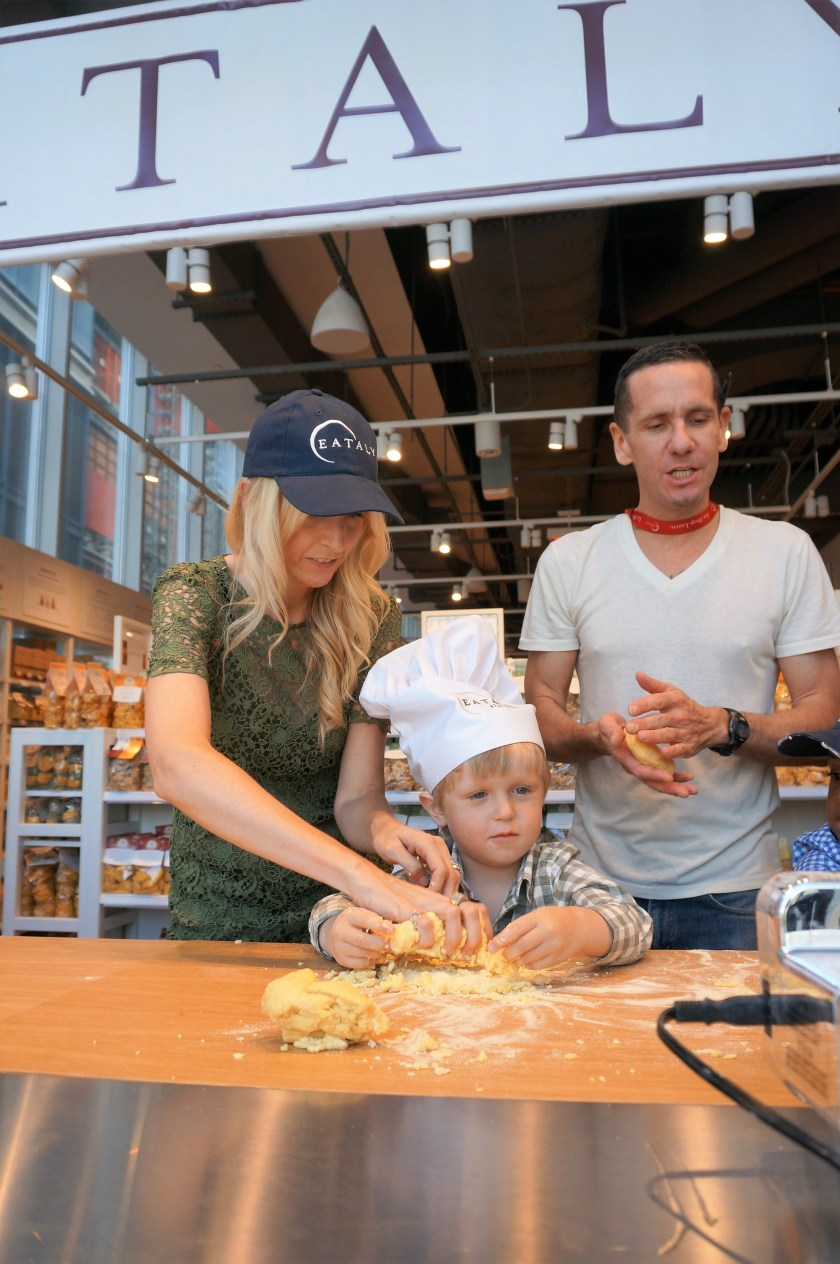 Cooking at Eataly Downtown NYC