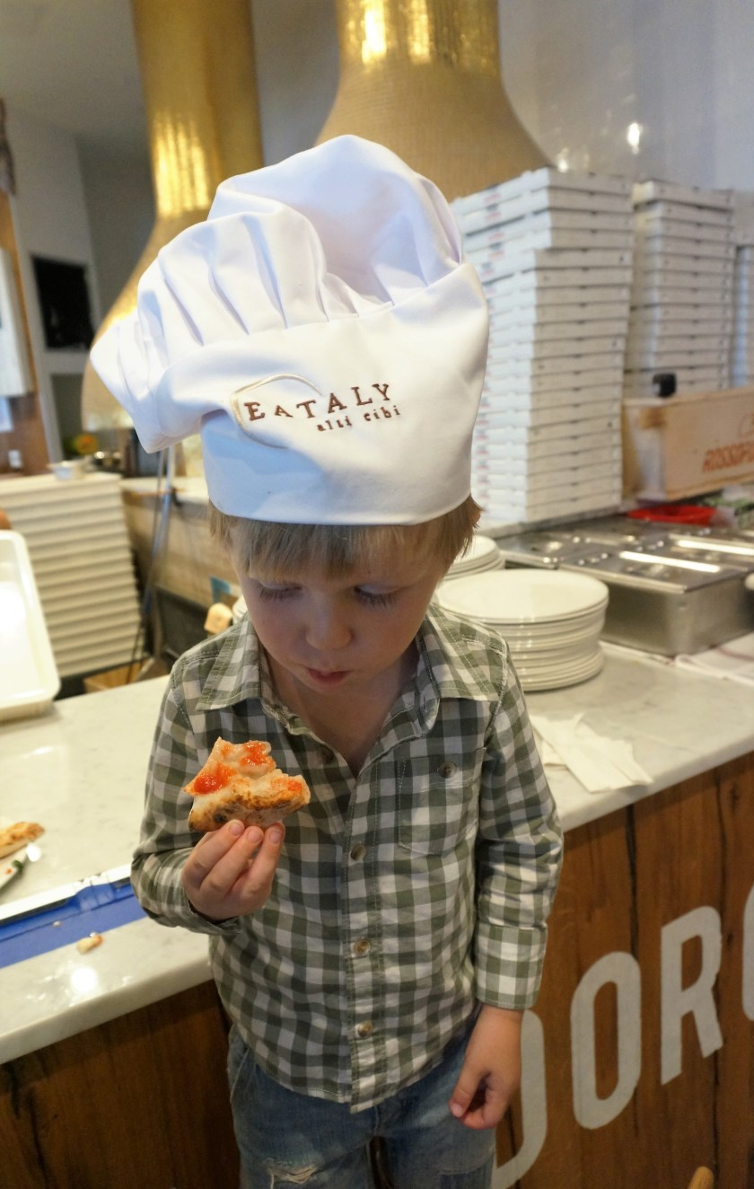 Eataly Downtown Pizza Counter