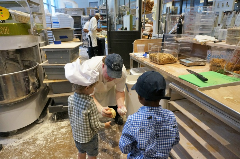 Entering the Eataly Downtown Bakery