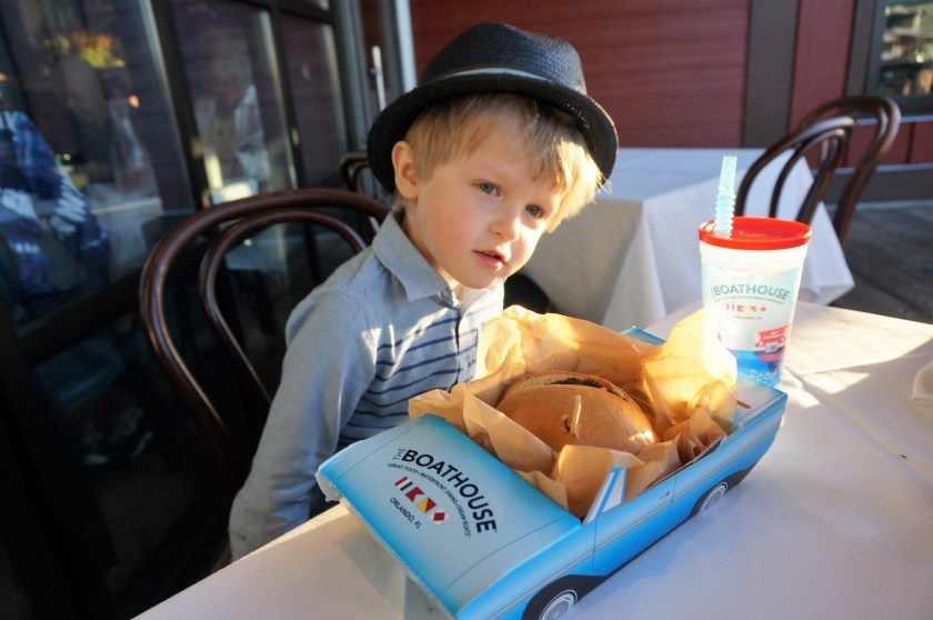 Boathouse Disney Springs Kids meal