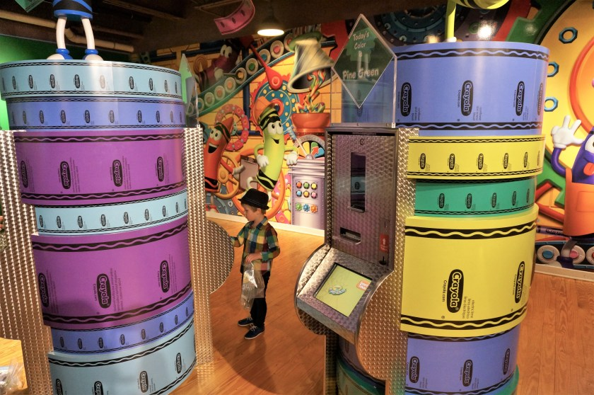 Crayola Experience in Easton - Wrap it Up