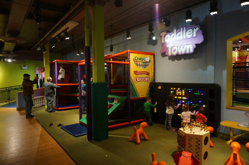 Crayola Experience in Easton - Toddler Town