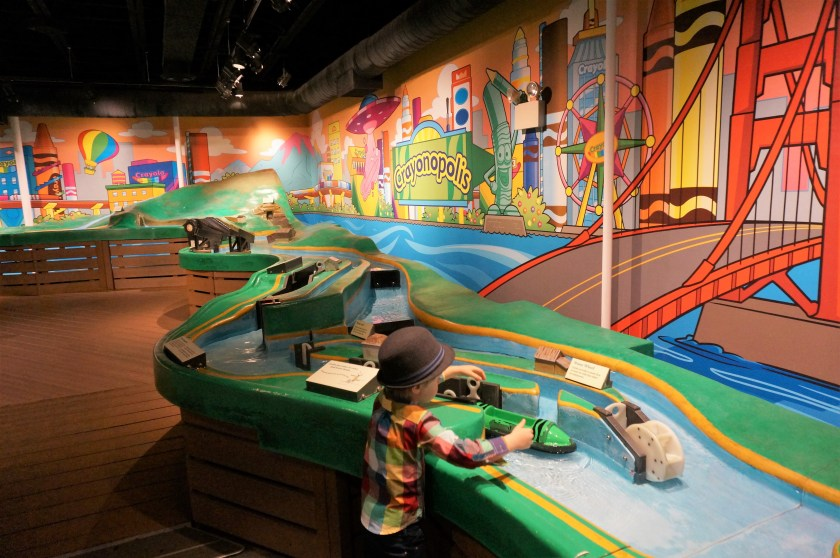 Crayola Experience in Easton - Water Works