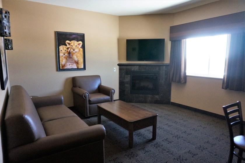 Kalahari's 2 Bedroom Suite Living-room area