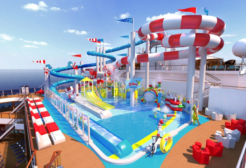 Dr. Seuss on Carnival Cruise