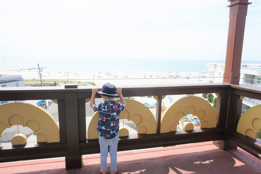 The view of the ocean from Lucy the Elephant