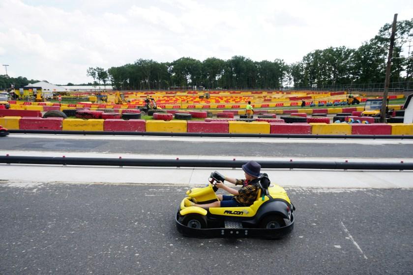 Mini Go-Carts at Diggerland