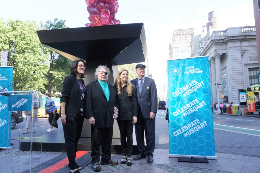 Chihuly in the City - Union Square Sculpture Unveiling