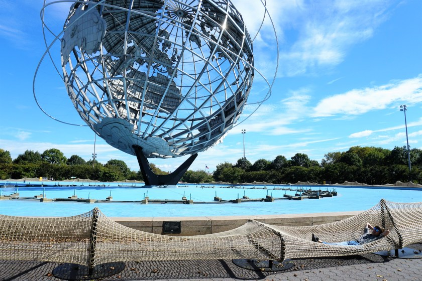 Ai Weiwei - Circle Fence at the Unisphere in Queens