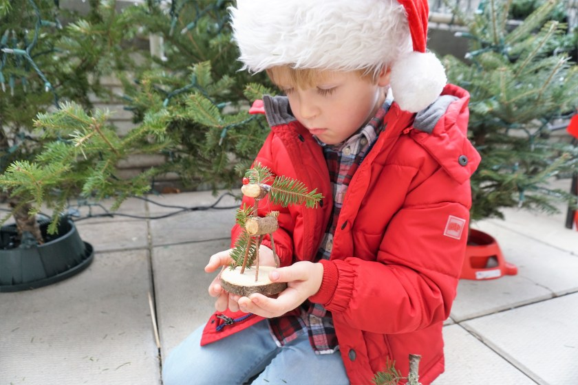 Woodland Crafts with Rudolph