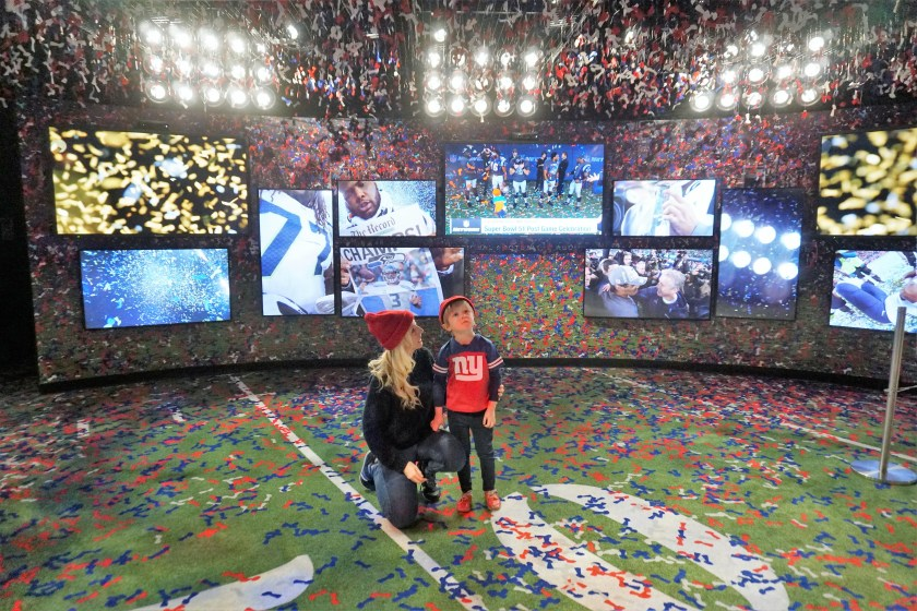 Super Bowl Win Experience at the NFL Experience