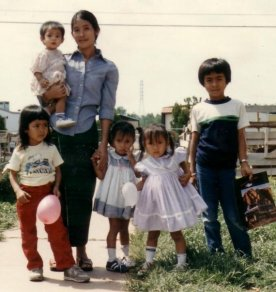 Lao Family in Texas