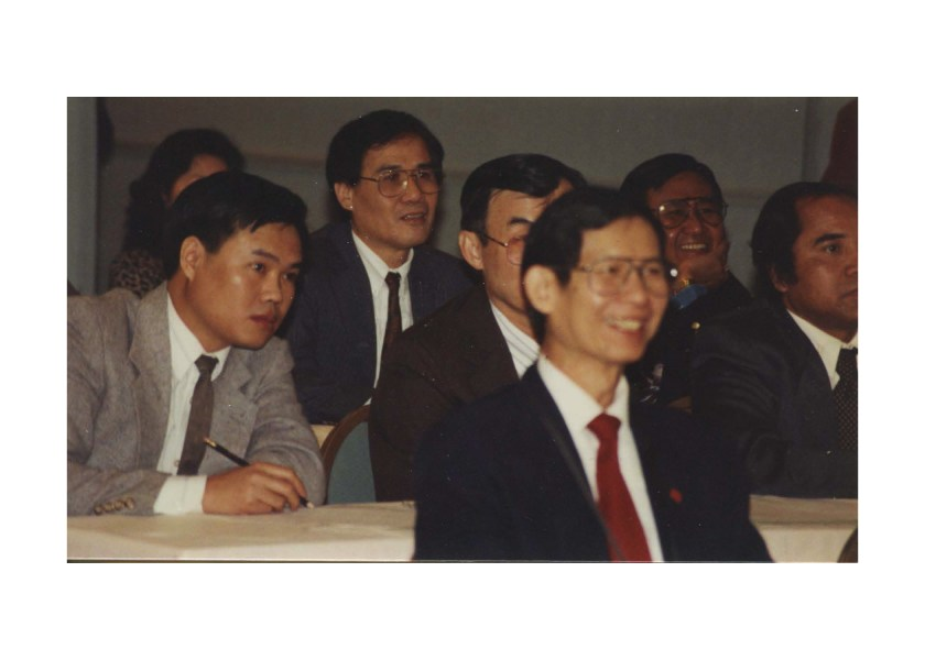 One of the first meetings of Lao community leaders, 1980s