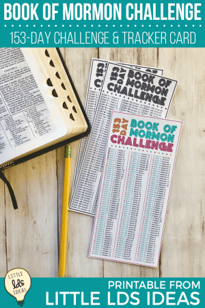 153-Day Book of Mormon Challenge