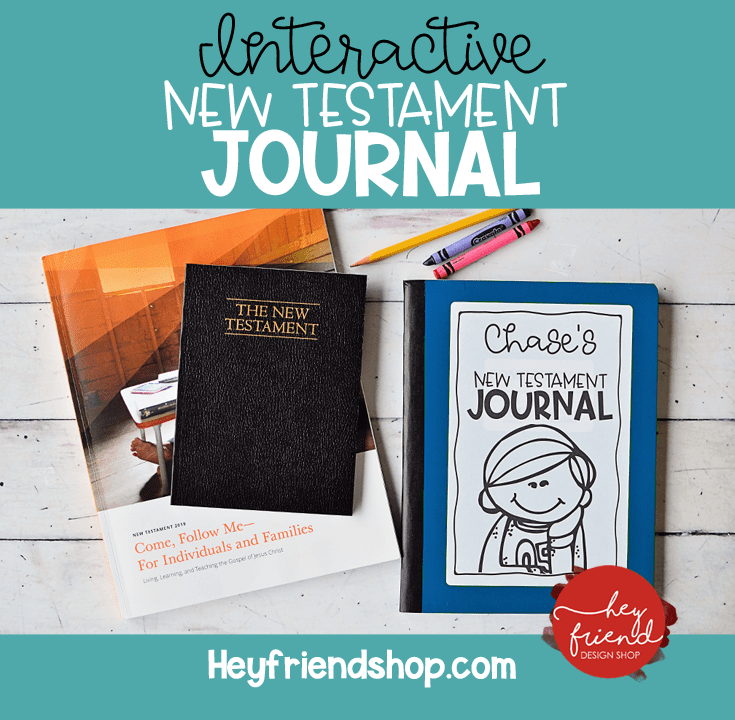 Interactive Journal from Hey Friend.com