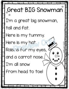 image regarding Printable Poems named 5 Winter season Poems for Youngsters Poetry Laptop computer