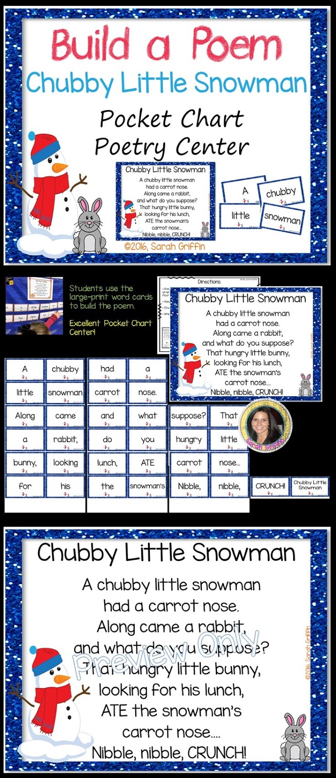picture about Chubby Little Snowman Poem Printable identified as Overweight Minor Snowman Poem for Small children Small Finding out Corner