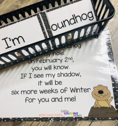 Groundhogs Day Poem for Kids   Little Learning Corner [ 1008 x 1008 Pixel ]