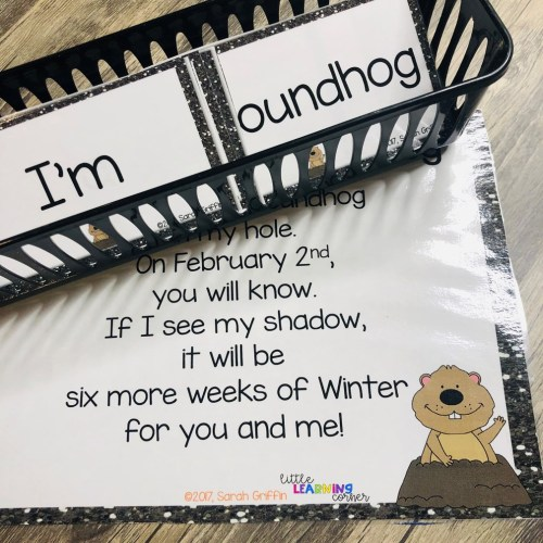 small resolution of Groundhogs Day Poem for Kids   Little Learning Corner