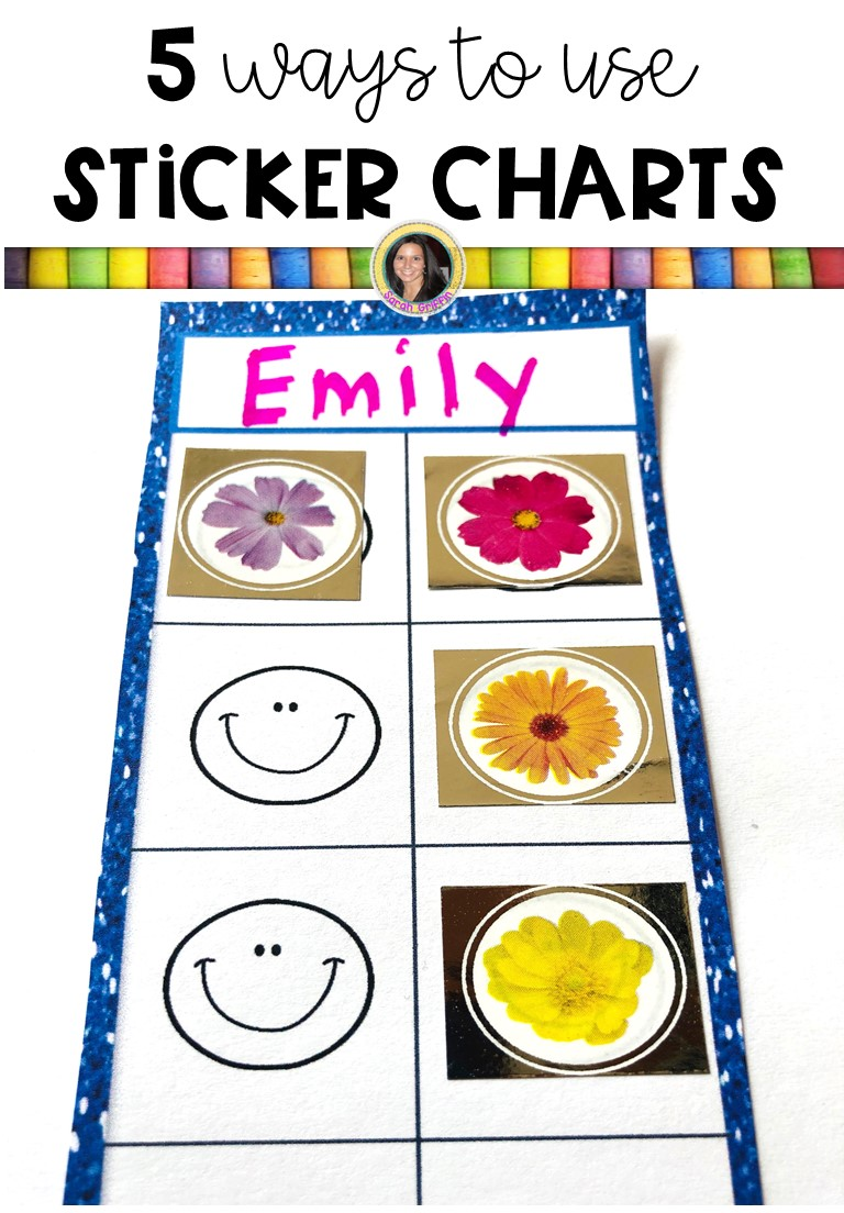 photograph regarding Printable Sticker Charts identify 5 Strategies towards Employ the service of Printable Sticker Charts Small Studying Corner