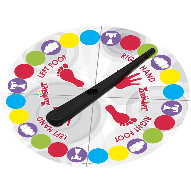 picture relating to Twister Spinner Printable identify Twister - Pleasurable for Little ones and Loved ones Activity Night time Minor