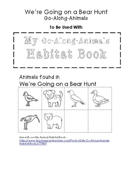 going on a bear hunt coloring page - bear hunt freebies little learning lane