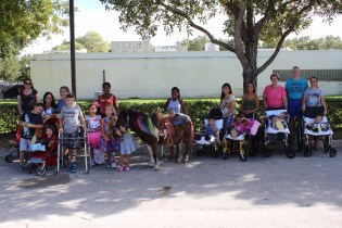 All of the kids loved the pony.