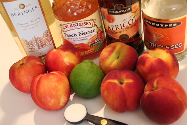 White Peach Sangria Ingredients