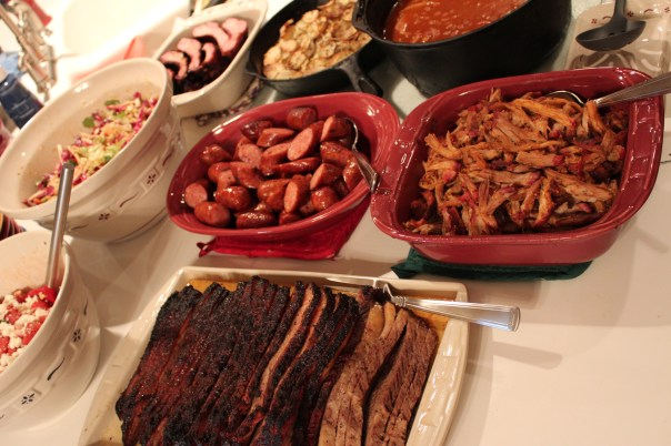 BBQ Cookout Spread