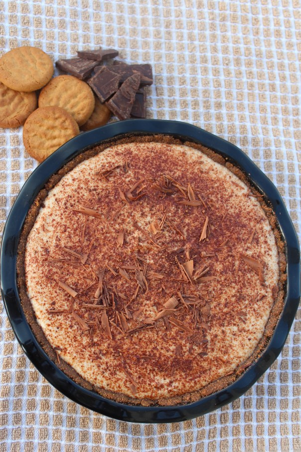 Tiramisu, Tart, Ginger Snap Crust, Chocolate Shavings, cocoa powder, torani, coffee syrup, ricotta, mascarpone, cheese, recipe, dessert